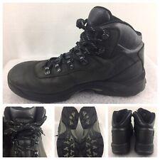 HI-TEC Waterproof Mens Size 12 US EU 45 Lace-up Boots Charcoal Black