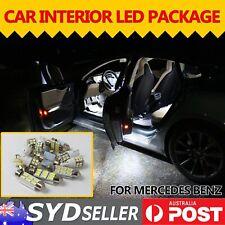 Car Interior White LED Package Error Free Kit For Mercedes Benz SL AMG 2003-2007