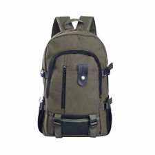 Men Canvas Backpack Rucksack Travel Sport Schoolbag Laptop Hiking Book Bag