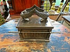 More details for ark of the covenant. stunning detailed replica. trinket box. religious relic.