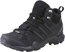 Adidas Outdoor Terrex Swift R2 Mid GTX Men's Black Synthetic & Mesh Shoes US 8