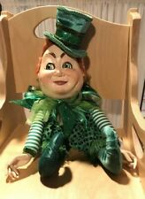 New listing Rare Retired Limited Edition St. Patrick's Day Katherine'S Collection Leprechaun