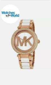 Michael Kors Parker MK6365 Ladies Quartz Watch brand new in box