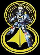 80's Cartoon Classic Robotech Skull Leader VF-1S custom tee Any Size Any Color