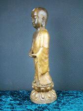 Buddha Bronze Skulptur Mönch Tibet Asiatika - 45 cm