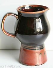 POT A LAIT EN PORCELAINE - COULEUR CHOCOLAT - VN VIKING SWEDEN - H. 15,5 cm