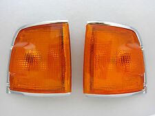 ISUZU TF TFR HOLDEN RODEO CHROME ORANGE CORNER LIGHT VAUXHALL BRAVA