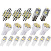 6000K Blanc LED Ensemble D'Ampoule D'IntéRieur pour Toyota 4Runner 18 Pcs I C2V6