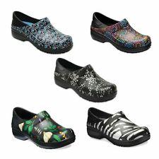 New Womens Crocs Neria Pro Graphic Clog Slip-Resistant Work Shoe 5 6 7 8 9 10 11