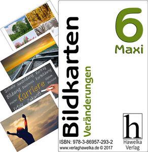 Bildkarten 6 -Maxi- Veränderungen - (extra große Fotokarten)