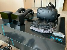 More details for htc vive full kit, perfect condition lenses, 2 sensors, 2 controllers, extras