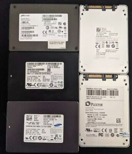 Assorted 256GB SSD Wiped and Tested Free Delivery Australia Wide