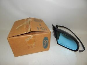 New OEM 1992-1995 Ford Mercury Power Rear View Mirror Right Hand Side Passenger