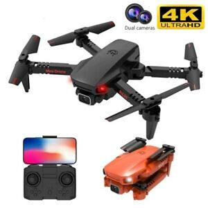 Mini Drone 4K Hd Dual Camera Fordable WiFi FPV Mobile Control RC Helicopter Toys