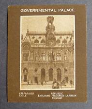 1920's Weber Baking Co. Capital Buildings of the World Gov. Build. Valparaiso