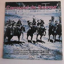 """2 x 33T CARROUSEL DE SAUMUR Disque Vinyle LP 12"""" CAVALERIE TRAIN - FESTIVAL 359"""