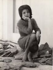 Marie Josée Neuville, 2 tirages argentiques originaux vers 1958