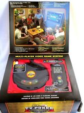 DELUXE TV: VIDEO POKER. TEXAS HOLD'EM, BLACKJACK..6 PLAYER EDITION..NEW iN BOX