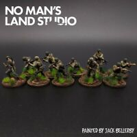 Pro Painted 1/72 Scale Fallschirmjager Squad 20mm Scale Pegasus Figures