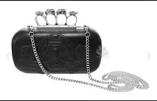Harley-Davidson Women's Sugar Skull Knuckle Duster Leather Purse HDWBA10923-BLK
