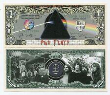 Rock Band Pink Floyd 1 Million Dollars Color Novelty Money Terrific Gift