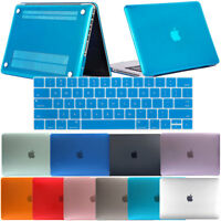 "Matte/Crystal Rubberized Shell Case For Mac Macbook Pro 15"" A1286 / 13"" A1278"