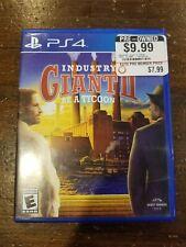 Industry Giant II (Sony PlayStation 4, 2017)