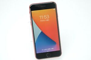 SIM FREE iPhone8 64GB Red sim unlocked shipping from Japan No.212