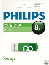Philips USB-STICK Vivid 8 GB USB 2.0 fm08fd05b