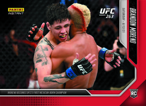BRANDON MORENO - 2021 PANINI UFC INSTANT #20 - FLYWEIGHT CHAMPION - (PRE-SALE)