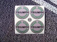 TRIUMPH Style Wheel Centres Vinyl Stickers 50mm Herald Dolomite britsh legend TR