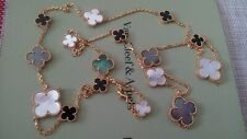 Authentic-Van Cleef & Arpels-16 Magic-Alhambra-NecklaceListed for charity