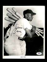 Ernie Banks PSA DNA Coa Hand Signed 8x10 Photo Cubs Autograph