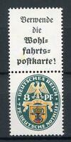 Deutsches Reich Zusammendruck MiNr. S 60 mit Falz gefaltet (MA1005