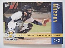 JOHN RYAN MURPHY RC TWINS 2011 Charleston Riverdogs baseball card YANKEES ROOKIE