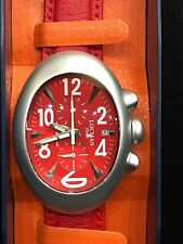 Watch Locman New Chrono Aluminium/Skin Red Ref014 Discounted New