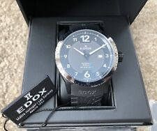 Edox Chronorally 1 Automatic Men's 80094 37GN NBU1 - In GREAT CONDITIONS -