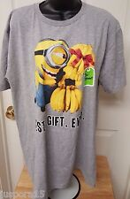 Despicable Me Unisex Multi Color Minion T-Shirt Size L