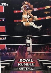 WWE Topps 2018 Women's Division Royal Rumble Set RR-6 Kairi Sane