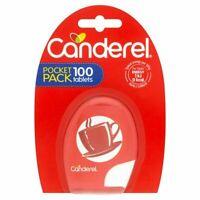 Canderel Sweetener Tablets 100 pocket pack - Low Calorie Sugar Alternative