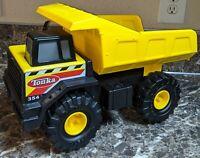 Tonka 354 Dump Truck Yellow Metal Plastic Hasbro 2012 Excellent Used Condition