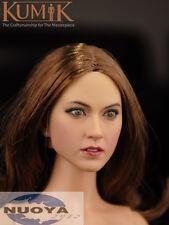 "1/6 Scale Female Head Sculpt KUMIK 16-16 For 12"" Hot Sideshow Toys TTL HT Body"