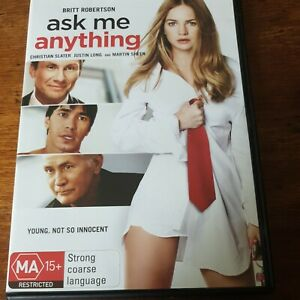 Ask Me Anything DVD R4 Like New! FREE POST