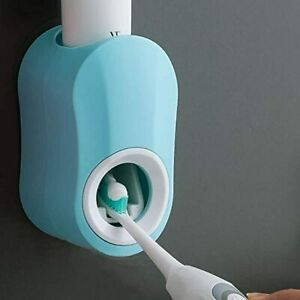 Toothpaste Squeezer Dispenser Automatic Hands Free Wall Mount for Home Bathroom