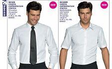 Isacco Shirt Cartagena Slim Stretch 2 Models Receptionist Waiter Dining Bar