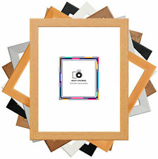 Flat 30x15mm Picture Frames Wood Effect Poster Frames Modern Photo Frames