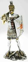 Statuina Soldato Romano Resina Pesante 23,5 cm