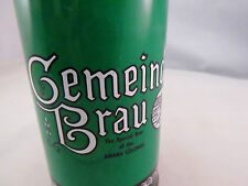 Vintage Gemeinde Brau Beer can, empty, pop tab top, 12 oz