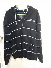 black striped mckenzie jacket size xl