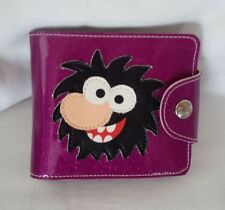 Paul Frank - Park La Fun Original Sonny Purple Sparkle Bi-fold Wallet - Rare!